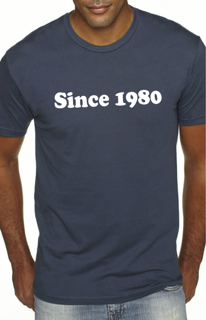 Birth Year Shirt (CUSTOMIZE)