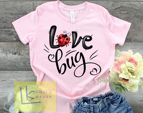 love bug pink toddler