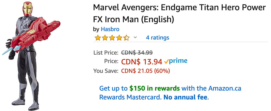 Amazon Canada Deals: Save 60% on Marvel Avengers + 44% on Water Bottle 2-Stage Replacement Filter + 32% on USB Charging Cable + More Offers
