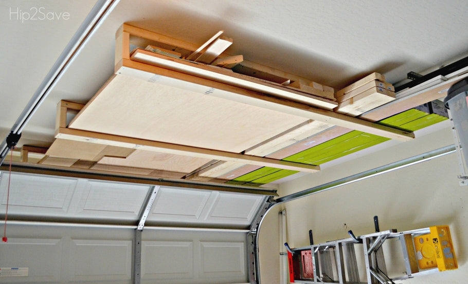 Marvelous Over Garage Door Storage