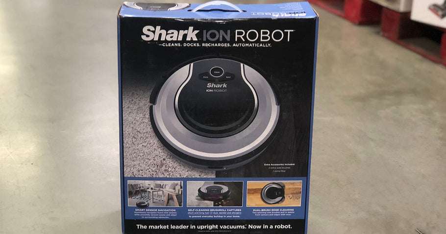 Shark ION ROBOT Vacuum Only $212.49 Shipped + Earn $40 Kohl's Cash