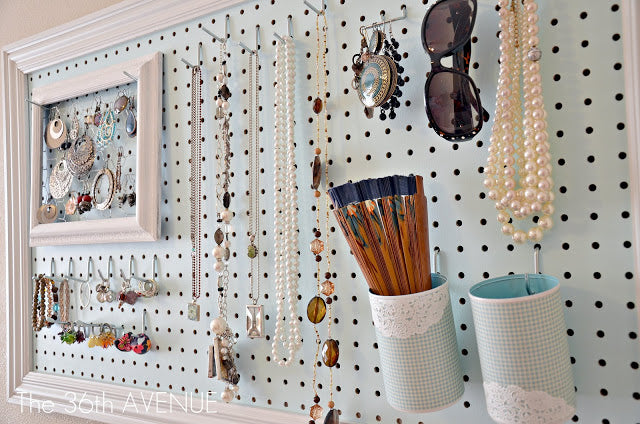 Do you want to organize your home and life in new and brilliant ways? Pegboards can work like magic! Yes, read that again! Pegboards aren't just about tool sheds, offices or garages