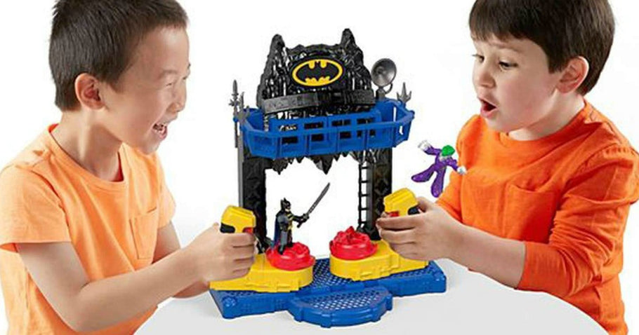 Imaginext DC Super Friends Battle Batcave Only $10 (Regularly $25)