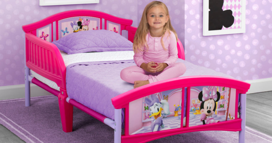 Delta Children 5-Piece Disney Bedroom Set Just $99.98 Shipped on Walmart.com | Bed, Table & Chairs + More