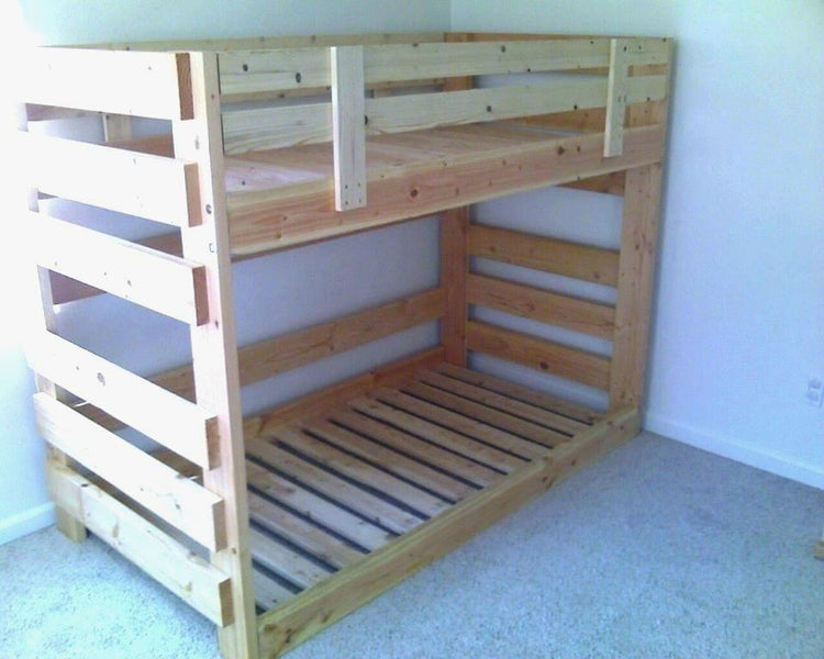 Large Space Toddler Size Bunk Beds
