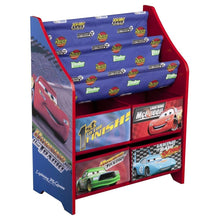 Load image into Gallery viewer, Delta Children's Products - Disney Cars Book and Toy Organizer