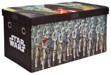 Load image into Gallery viewer, Great star wars storage bench and toy chest officially licensed perfect for any playroom or bedroom