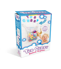 Load image into Gallery viewer, The Tub Cubby Makes Bath Time Fun and Neat
