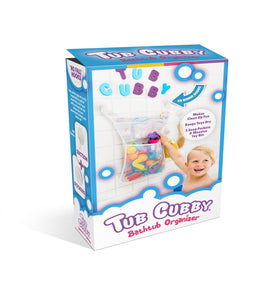 The Tub Cubby Makes Bath Time Fun and Neat