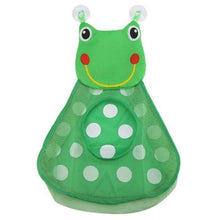 Load image into Gallery viewer, Duck and Frog Bath Toy Organizer