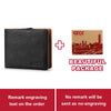 GZCZ Genuine Leather Men Wallet Clamp Money Card Holder Male Purse Drop Shopping Engraving PORTFOLIO MAN Money Bag