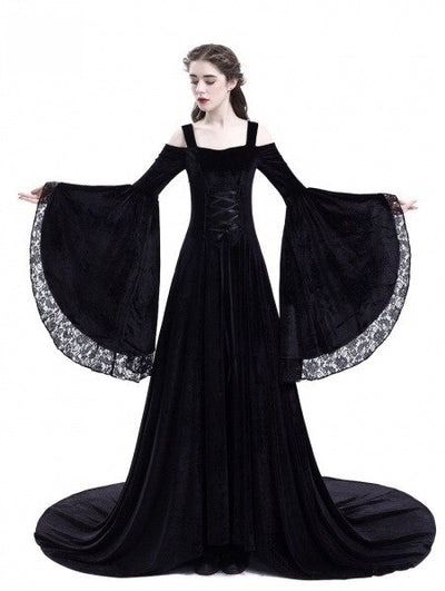 Halloween Dress Medieval Palace Princess Dress Adults Women Gothic Queen Party Halloween Costumes Plus Size S5XL