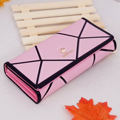JIULIN PU Leather Women Hasp Long Wallet Ladies Purse Wallets Purse Card Holder Coin Cash Portefeuille Femme Bag