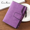 Ladies Short Wallet Women's Zipper Wallet Multifunction Fashion Simple Fresh Largecapacity Leather Coin Purse