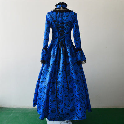 Victoria Dress Vintage Lace Noble Palace Medieval Costume Lolita Halloween Costume Evening Party Dresses Carnival
