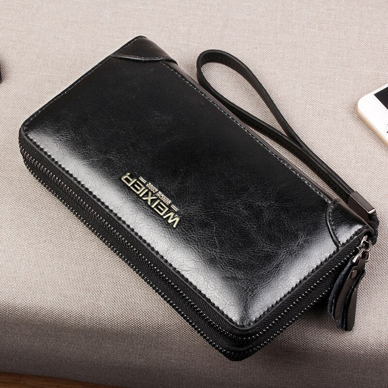 Womens PU Leather Mini Wallet Card Holder Zip Coin Purse Handbag LA