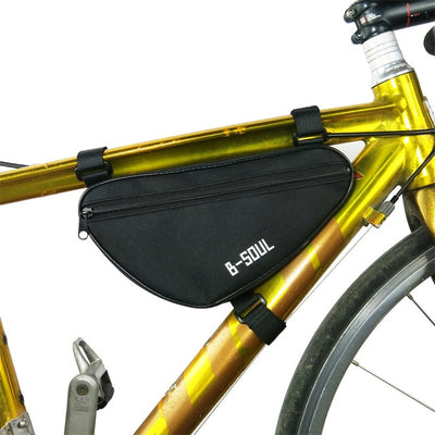 HOT Cycling Front Bag Waterproof Outdoor Triangle Bicycle Front Tube Frame Bag Mountain Bike Pouch Bike Frame Bag accessories