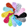 5 Pairs Heart Dot Solid Girl Female Lady Socks For Women's Socks Cute Socks Bamboo Women's Cotton Socks 3 style