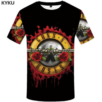 KYKU Brand Poker T shirt Playing Cards Clothes Gambling Shirts Las Vegas Tshirt  Clothing  Tops Men Funny 3d t-shirt