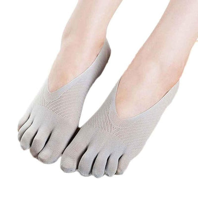 Fashion Summer Thin Five Toe Sock Slippers Women Lady Invisibility  Socks Five Finger Socks Amazing