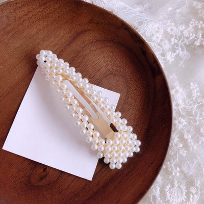2019 Popular Fashion Pearl Hairgrip Women Girls Hair Clips Bobby Pins Accessories For Women Barrette Hairclip Hairpin Headdress