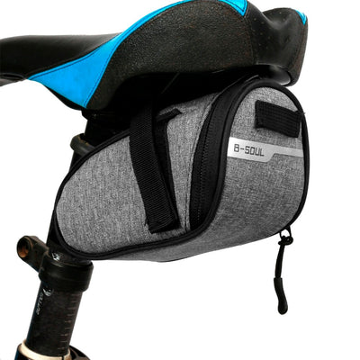 B-soul Portable Waterproof Bike Saddle Bag Portable Cycling Seat Pouch Bicycle Tail bags Rear Pannier Cycling equipment