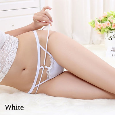 1PC Hot Women Ladies Sexy Low Waist Buttocks Bandage Elastic Strap G-strings Thongs Ultra-thin Seamless Panties Underwear Briefs