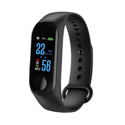 M3 Fitness Smart Bracelet Color IPS Screen Sport Smart Watch Men Women IP67 Waterproof Blood Pressure Oxygen Activity Tracker