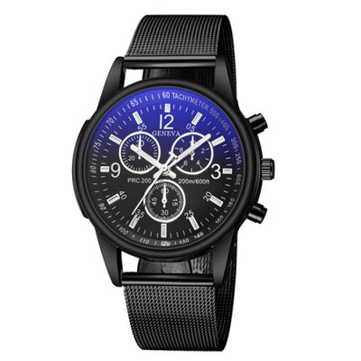 Luxury Brand Men's Watch Ultra Thin Stainless Steel Clock Male Blue Glass Sport Watch Men Watch relogio masculino zegarek meski