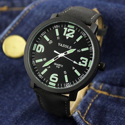 YAZOLE Luminous Watch Men Watch Sport Men's Wrist Watches Men's Watch Men Clock erkek kol saati relogio masculino reloj hombre