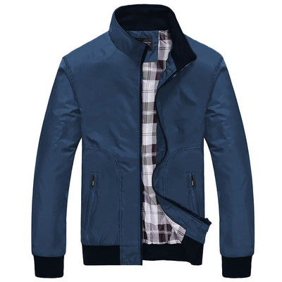 Spring Jackets Men 2019 Casual Jacket Male Coats Camo Bomber Mens Jacket Brand Business Outwear Turn-down Collar Zipper Pocket