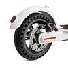 21cm Rubber Solid Rear Tire with Hollow Design for Xiaomi M365 Electric Scooter Skateboard xiaomi m365 accesorios m365 rear tyre