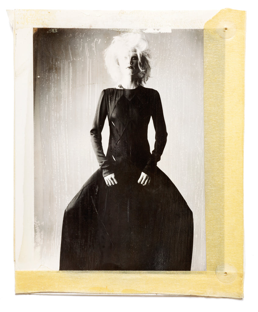 Polaroids - Model in Sculptural Dress