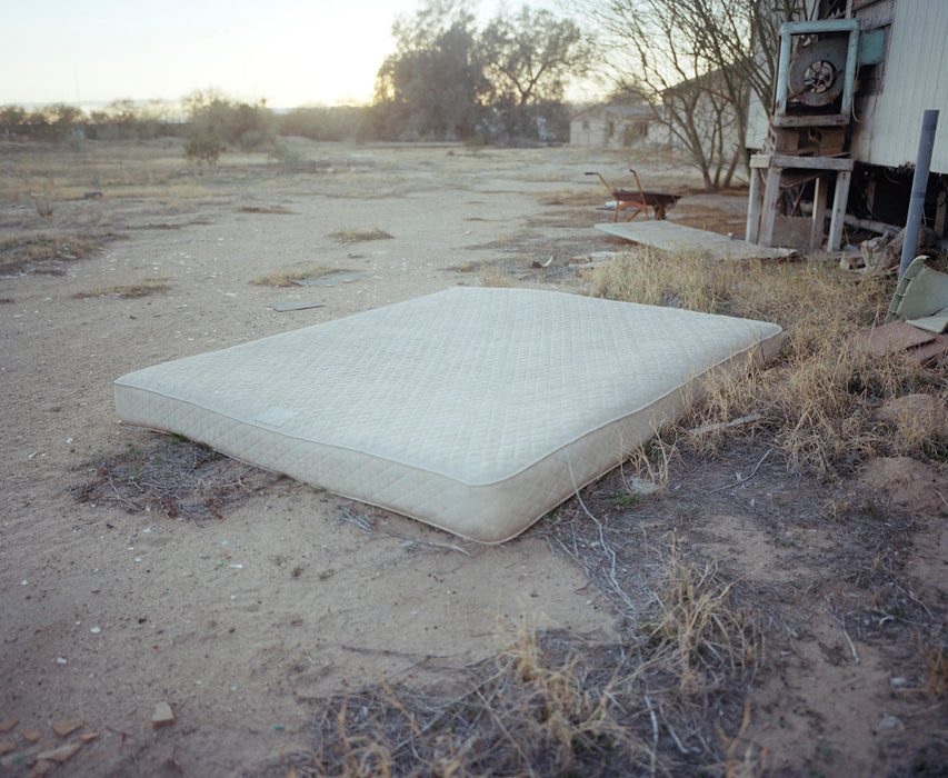 Photographs From the American Southwest - Somebody's Bed (TX)