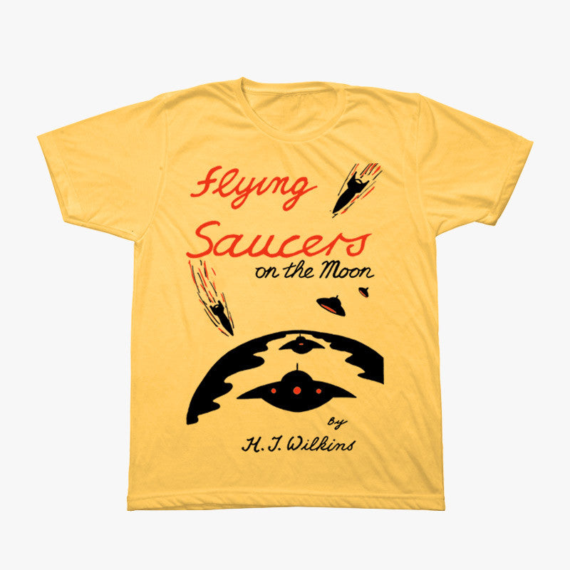 Flying Saucers Are Real! T-Shirt
