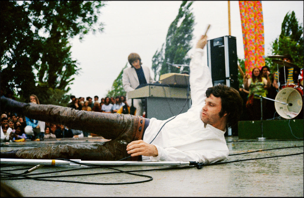 Total Excess- Jim Morrison, The Doors At The Northern California Folk Rock Festival
