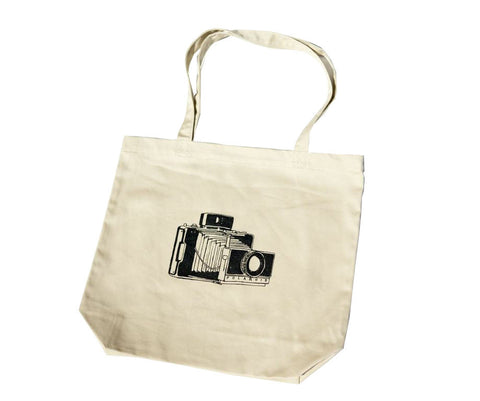 Jonathan Mannion Polaroid Land Camera Tote Bag