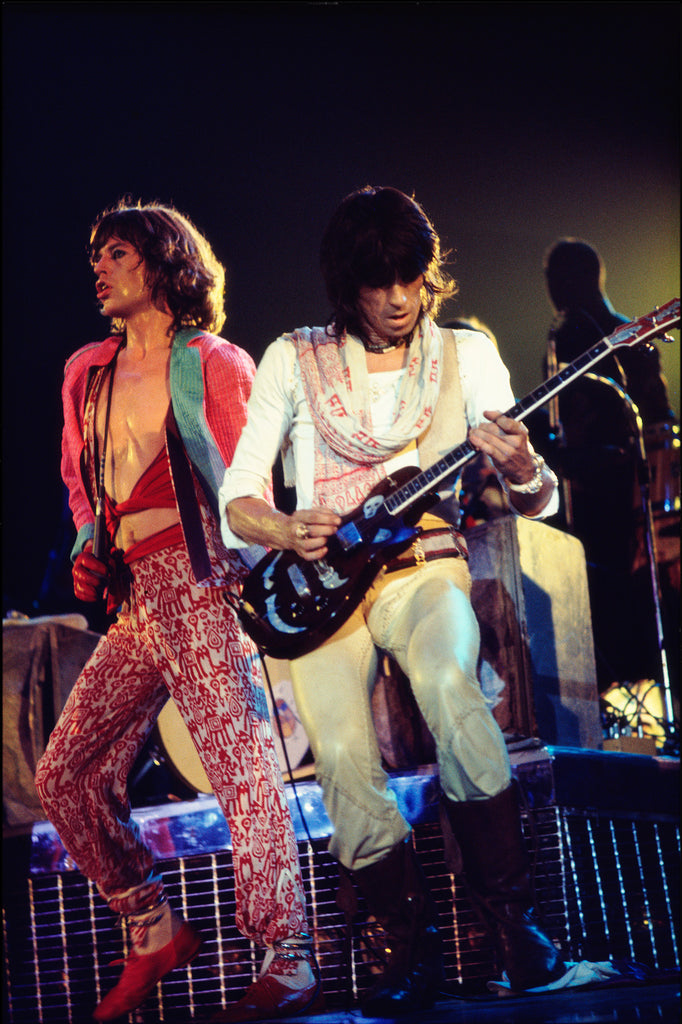 Total Excess- Mick Jagger And Keith Richards, The Rolling Stones At The Cow Palace