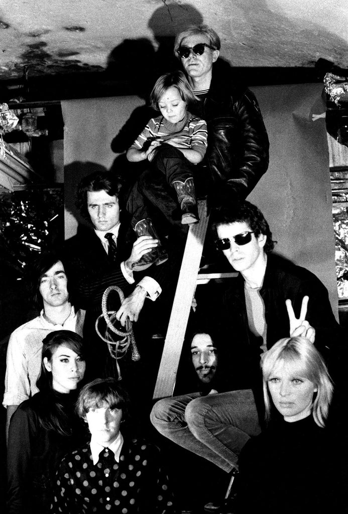The Silver Age - Andy Warhol, Lou Reed, Nico, John Cale, Maureen Tucker, Mary Woronov, Sterling Morrison, and Gerard Malanga