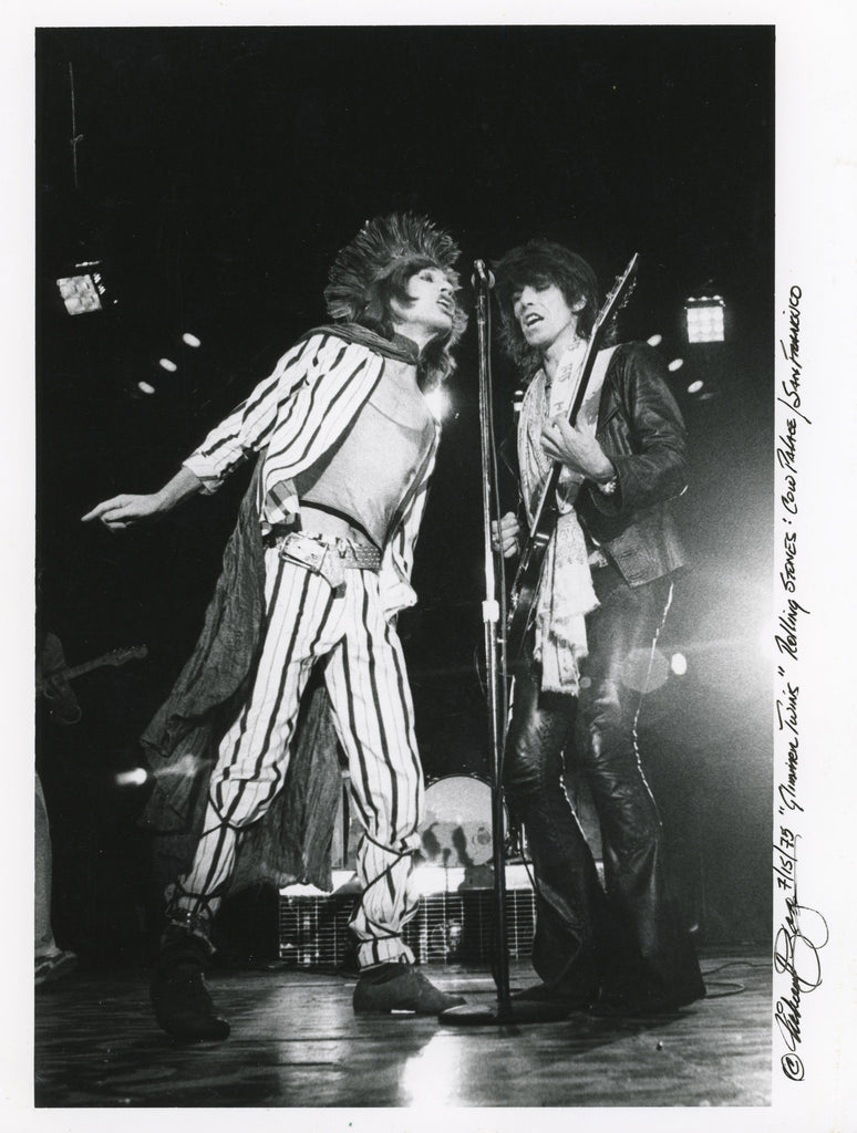 Total Excess- Mick Jagger And Keith Richards At The Cow Palace