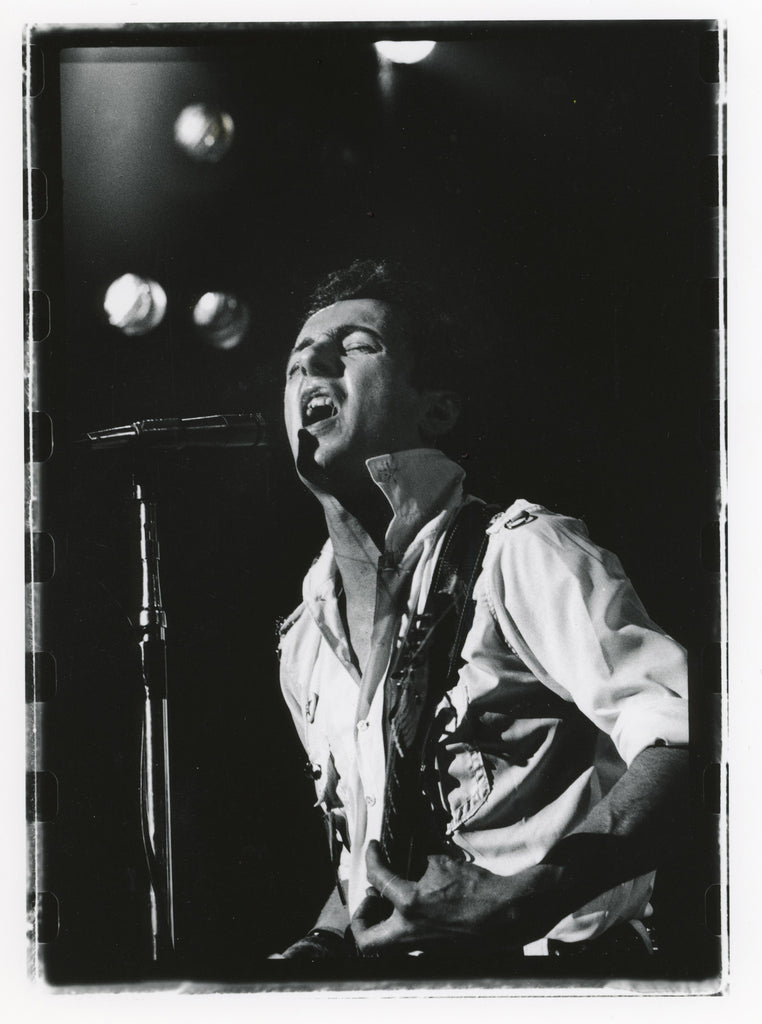 Total Excess- Joe Strummer, The Clash At The Berkeley Community Theatre