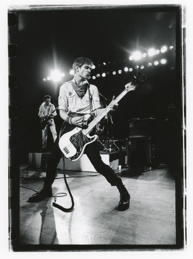 Total Excess- Paul Simonon And Joe Strummer, The Clash At The Berkeley Community Theatre