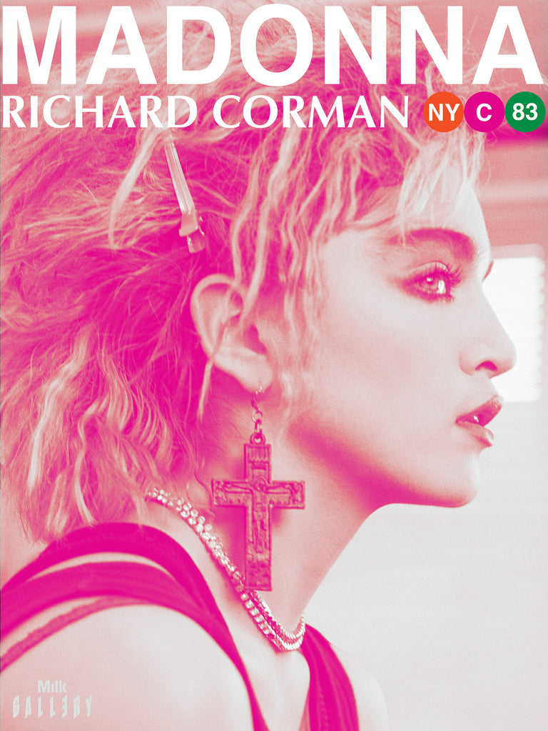 Madonna NYC83 Exhibition Poster