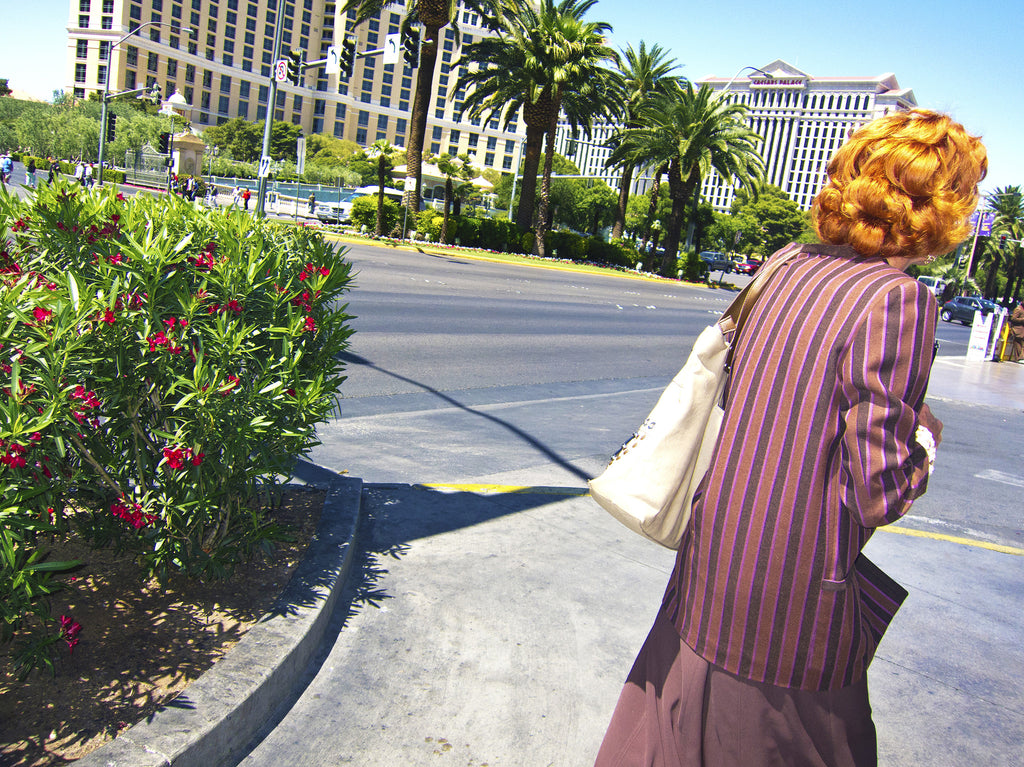 Redhead on the Strip