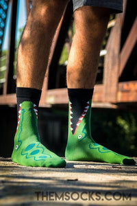 Crocodile Socks - Themsocks