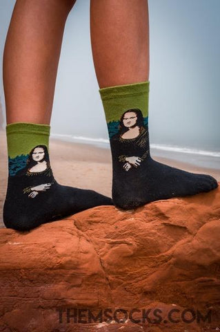 La Gioconda Green Socks - Themsocks