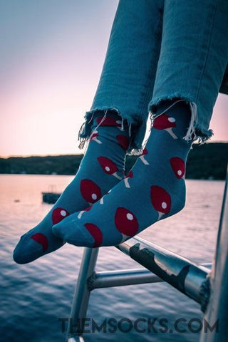 Ping Pong Patterned Socks - Themsocks