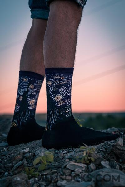 Starry Night Socks - Themsocks