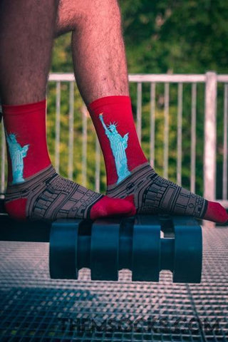 Statue of Liberty Socks - Themsocks