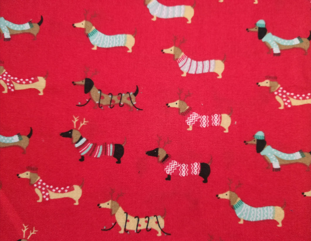 Beeswax Christmas food wrap - Large